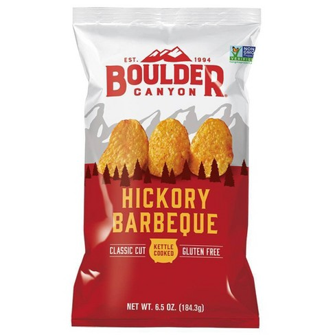 Boulder Canyon Hickory Barbeque Kettle Cooked Potato Chips - 6.5 oz - image 1 of 1