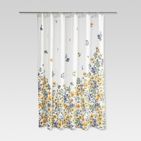 Floral Print Shower Curtain Gold Medal Threshold Target