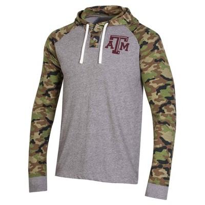 NCAA Texas A&M Aggies Men's Camo Lightweight Hoodie