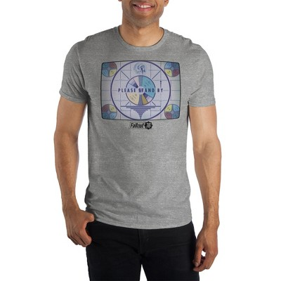 Please Stand By Mens Fallout Shirt Short Sleeve Fallout T Shirt