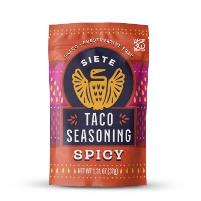Siete Spicy Taco Seasoning - 1.31oz