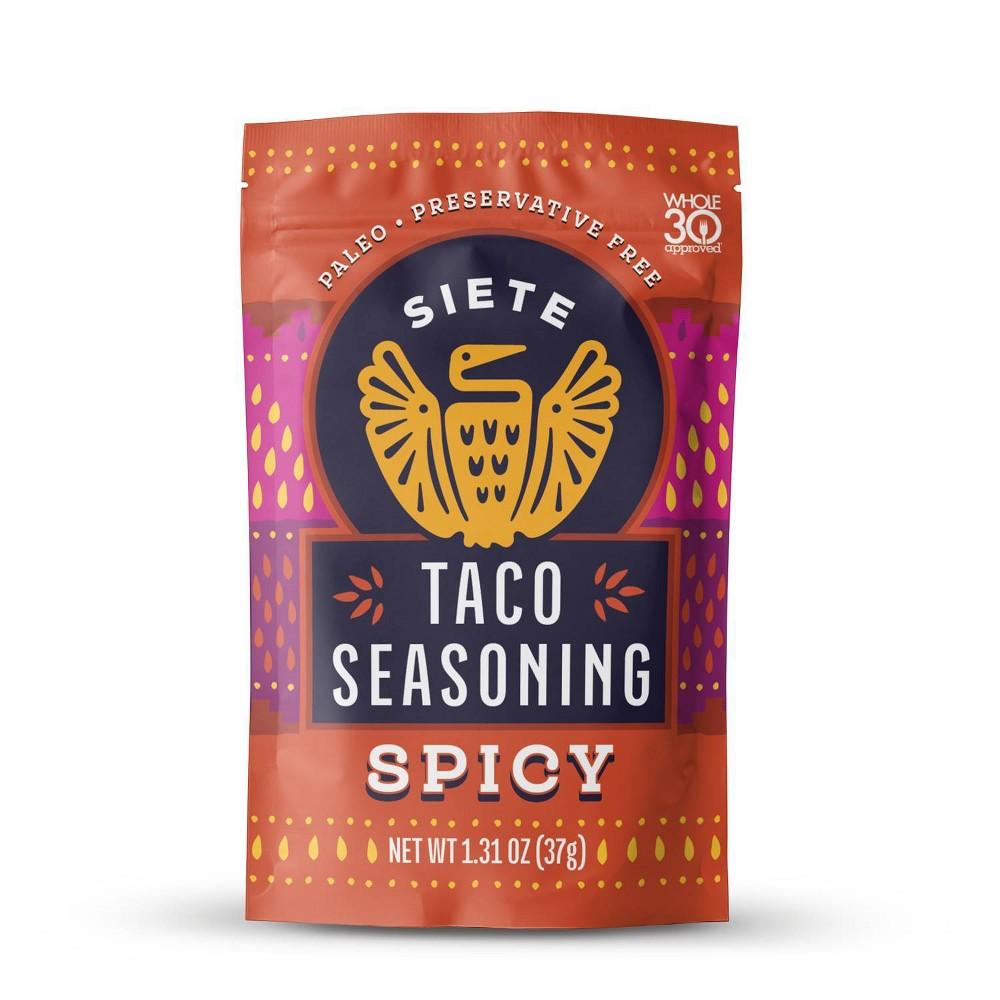 Siete Spicy Taco Seasoning 1 3oz
