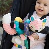 Infantino Go Gaga! Spiral Car Seat Activty Toy - Pink - image 3 of 4