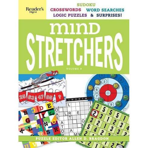 Reader's Digest Mind Stretchers Vol. 9 - (Mind Stretcher's) by  Allen D Bragdon (Spiral Bound) - image 1 of 1
