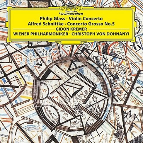 Various - Glass/Schnittke:Violin Crto 1/Concert (Vinyl) - image 1 of 1