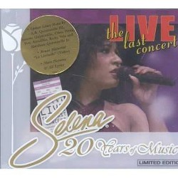 Selena - Selena Live-The Last Concert (CD)