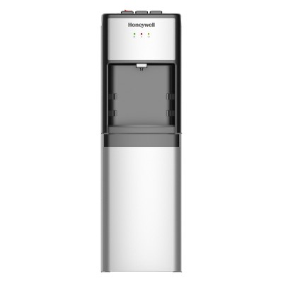 Honeywell 39  Commercial Grade Freestanding Water Cooler Dispenser - Silver HWB1083S