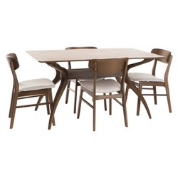 "Lucious 60"" 5pc Dining Set - Christopher Knight Home"