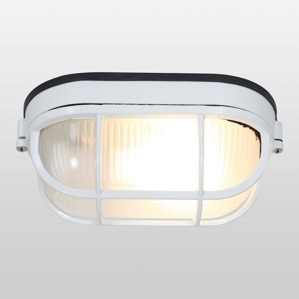 Image of Nauticus Wet Location LED Outdoor Wall Light with Frosted Glass Shade White - Access Lighting