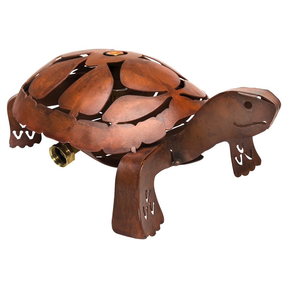 Image of Turtle Sprinkler - Burnt Rust - Saint Tropez, Brown