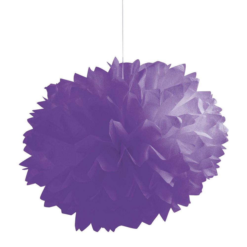 3ct Creative Converting Amethyst Purple Tissue Balls