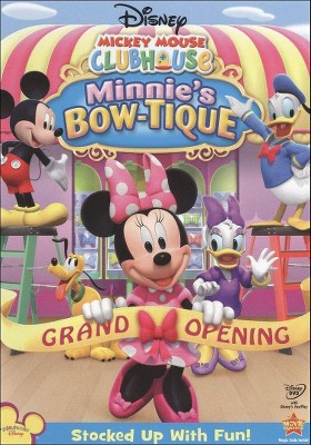 Mickey Mouse Clubhouse: Minnie's Bow-tique (DVD)