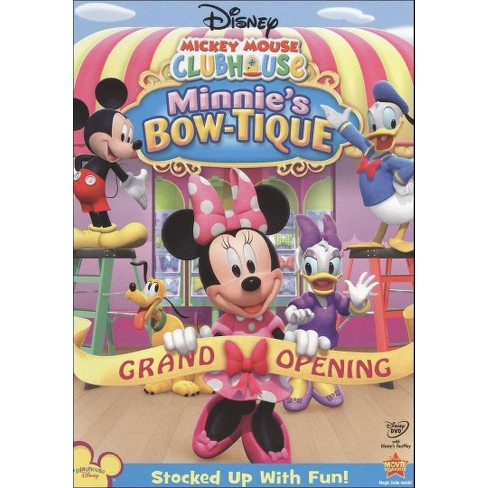 Mickey Mouse Clubhouse: Minnie's Bow-tique (DVD) - image 1 of 1
