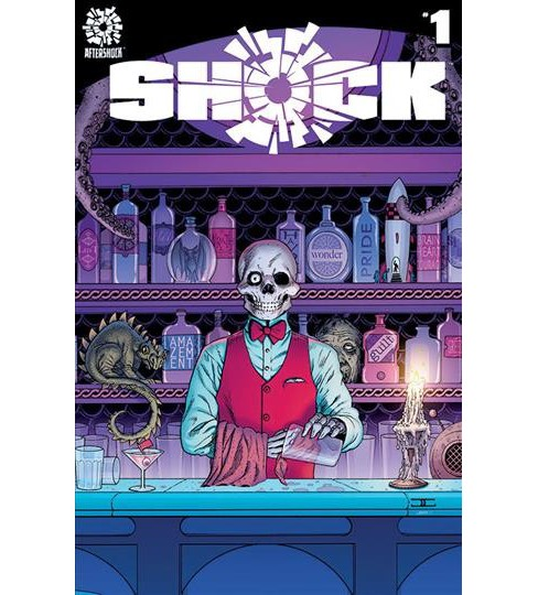 Shock -  by Brian Azzarello & Mike Carey & Neil Gaiman (Hardcover) - image 1 of 1