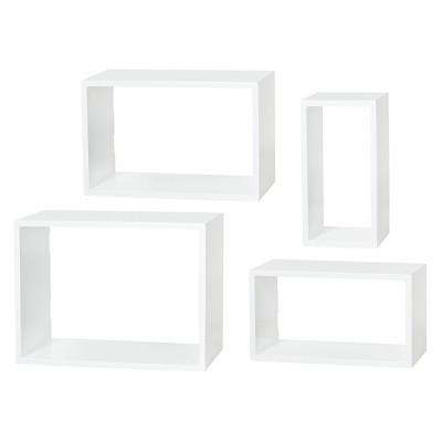Dolle Windows Floating Shelf Set - White