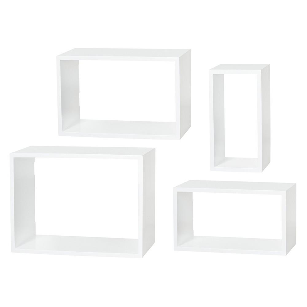 Image of Dolle Windows Floating Shelf Set - White