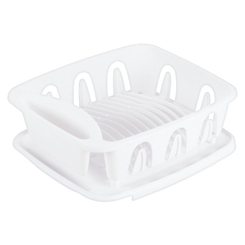 Small 2pc Dish Rack White - Room Essentials™ - image 1 of 1
