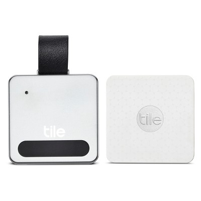 Tile Slim with Luggage Tag - White