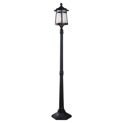 Outdoor Lantern Kenroy Black Aluminum - image 1 of 1