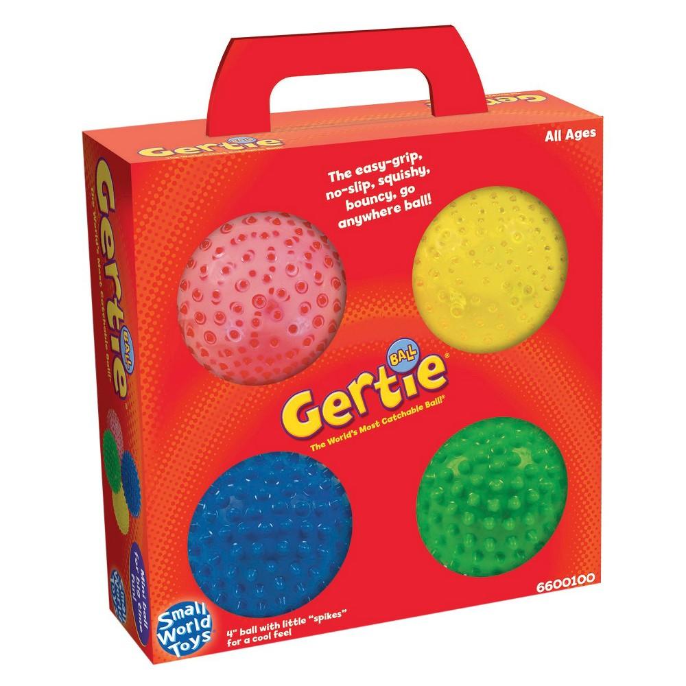 Small World Toys Mini Bumpy-4 Balls in a Box, Multi-Colored Small World Toys Mini Bumpy-4 Balls in a Box Color: Multi-Colored. Gender: Unisex.