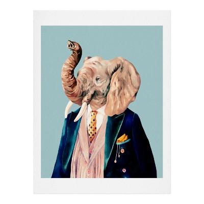 Animal Crew  Mr. Elephant Art Print