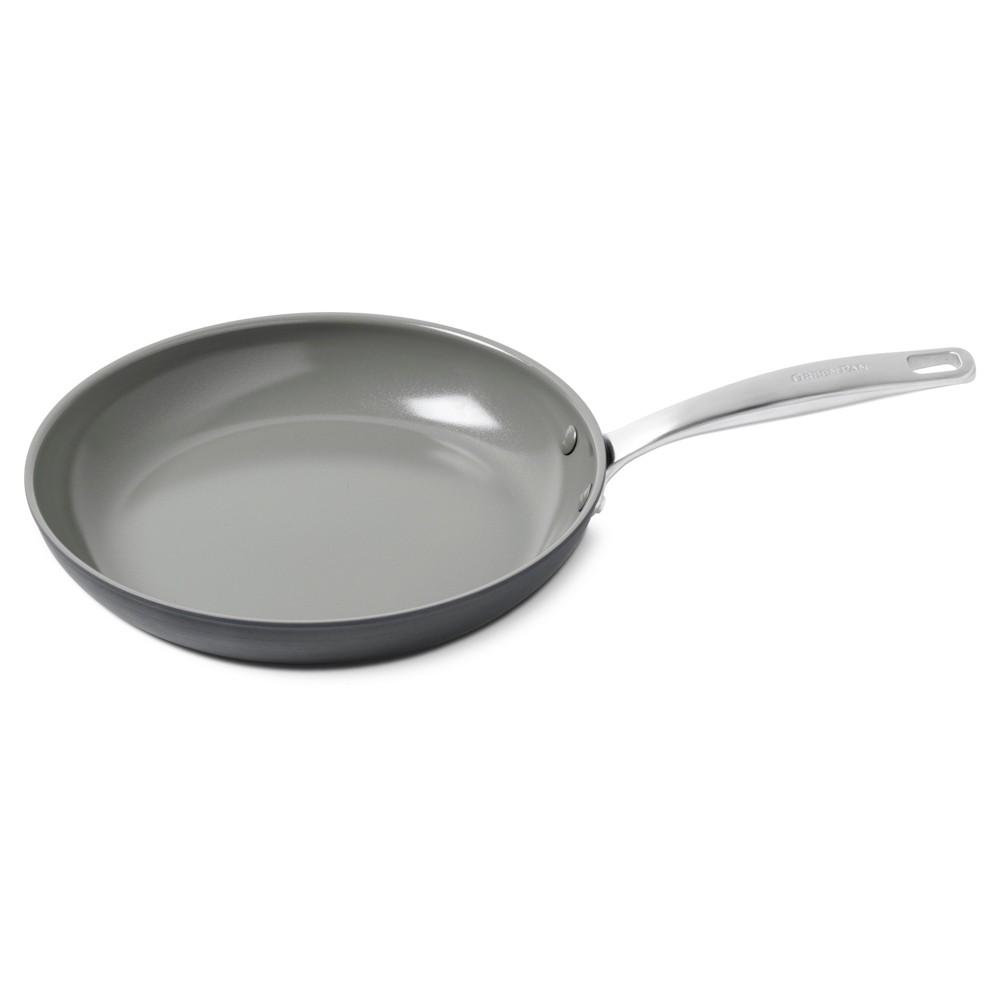 Image of GreenPan Chatham 12 Ceramic Non-Stick Open Frypan, Gray