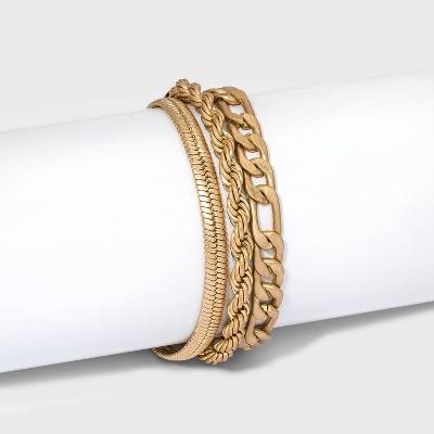 Multi Rope and Cobra Chain Bracelet - Universal Thread™