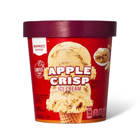 Apple Crisp Ice Cream - 16oz - Market Pantry™ - image 1 of 2