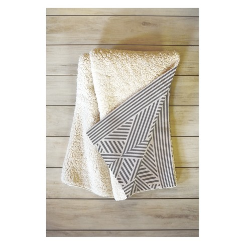 50 x 60 Holli Zollinger Amai Throw Blanket Gray - Deny Designs - image 1 of 2