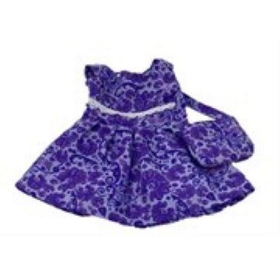Doll Clothes Superstore Matching Girl And Doll Summer Purple Size 8