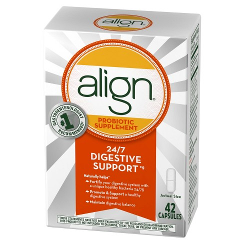 Align Probiotic Supplement Digestive Capsules 42ct - image 1 of 2