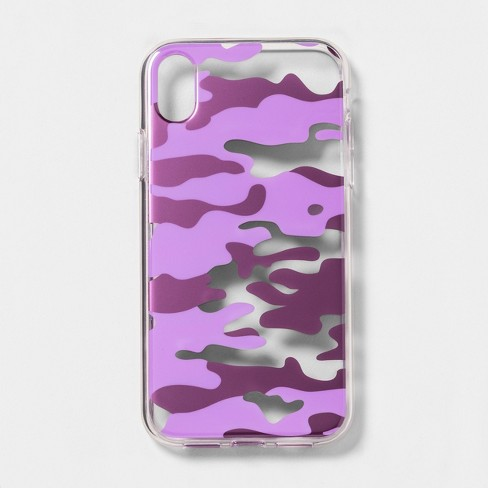 heyday™ Apple iPhone XR Case - Purple Camo - image 1 of 3