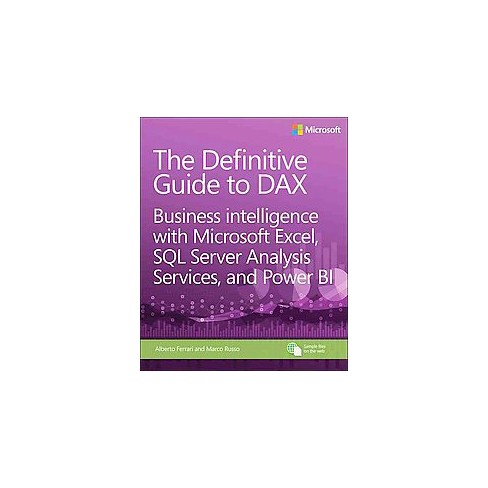 definitive guide to dax  Definitive Guide To DAX : Business Intelligence With Microsoft Excel ...