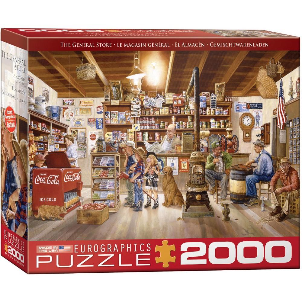 EuroGraphics Little Shoppers 2000pc Puzzle