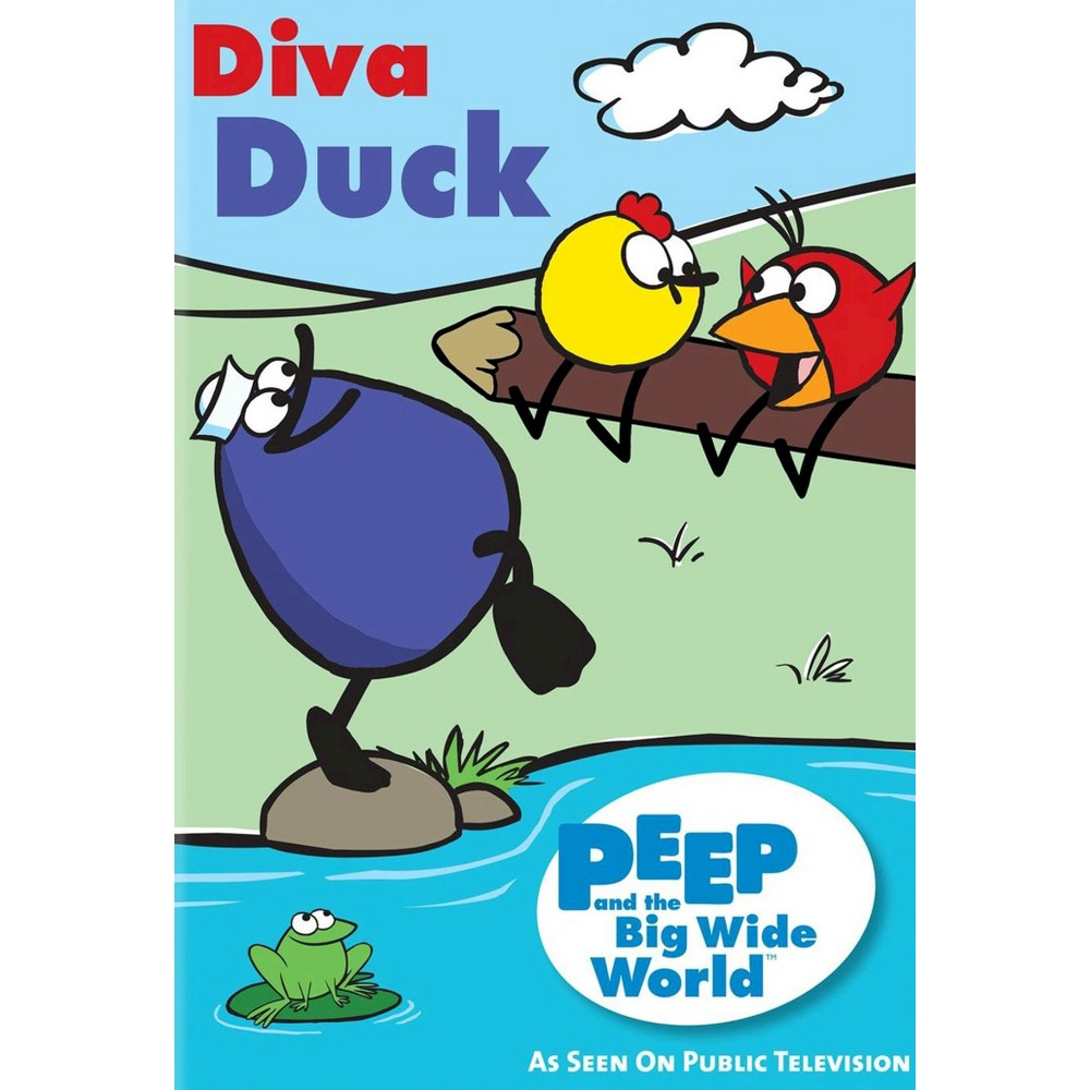 Peep and the big wide world:Diva duck (Dvd)