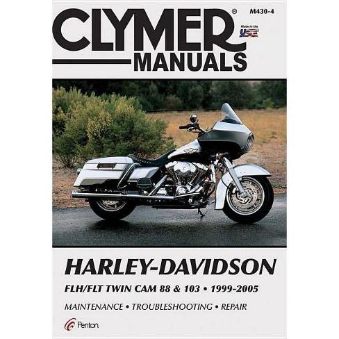 harleydavidson flh/flt twin cam 88  103 19992005  clymer color wiring  diagrams 4th edition paperback