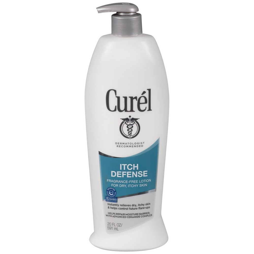 Image of Unscented Curel Itch Defense Lotion - 20oz