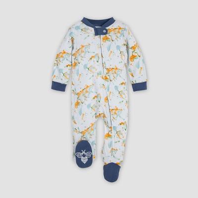 Burt's Bees Baby® Baby Boys' World Explorer Organic Cotton Sleep N' Play - White/Blue 0-3M