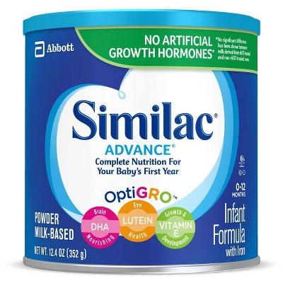 Similac Advance Infant Formula with Iron Powder - 12.4oz