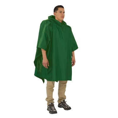 Outdoor Products Backpacker Poncho - Green