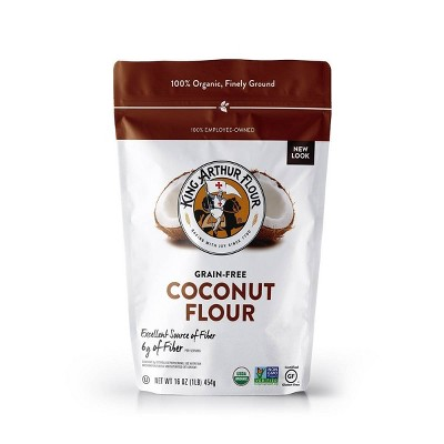 Flours & Meals: King Arthur Organic Coconut Flour