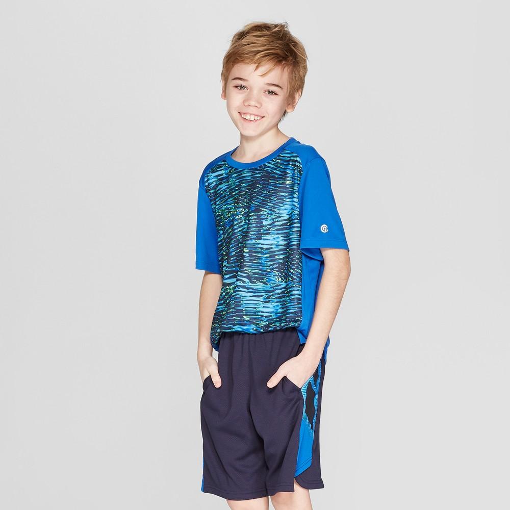 Boys' Printed Tech T-Shirt - C9 Champion Blue S