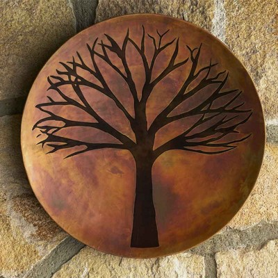 VivaTerra Copper Finish Tree of Life Wall Art