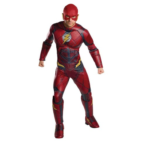 Men's The Flash Justice League Movie Deluxe Adult Costume Large - image 1 of 1