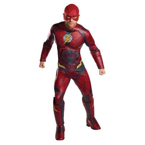 Men's The Flash Justice League Movie Adult Plus Costume - image 1 of 1