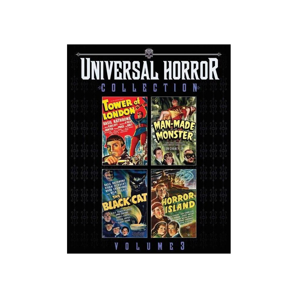 Universal Horror Collection Volume 3 Blu Ray 2019