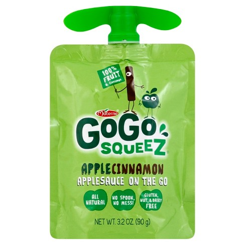 GoGo Squeez Apple Cinnamon - 3.2oz - image 1 of 2