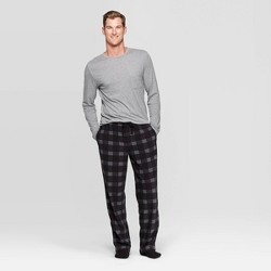 Men's Microfleece Pajama Set - Goodfellow & Co™ Gray