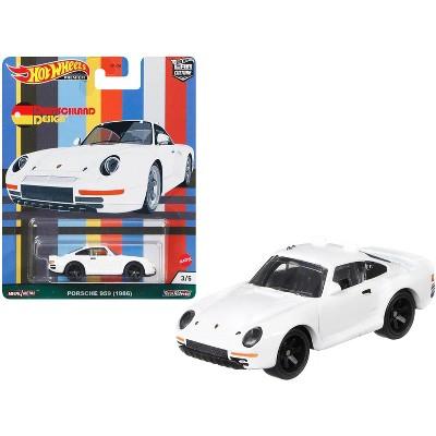 """1986 Porsche 959 White """"Deutschland Design"""" Series Diecast Model Car by Hot Wheels"""