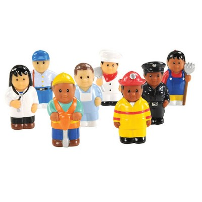 "Kaplan Early Learning Community Workers 3"" Tall - Set of 8"
